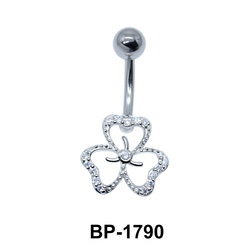 Clover Leaf Belly Piercing BP-1790