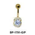 Multiple Stones Belly Piercing BP-1791