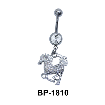 Horse Dangling Belly Piercing BP-1810