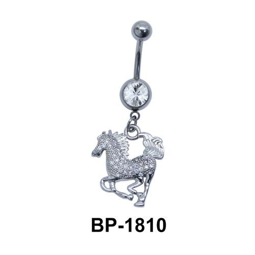 Horse Dangling Belly Piercing BP-1810