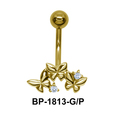 Butterfly Belly Piercing BP-1813