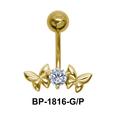 Beautiful Butterfly Belly Piercing BP-1816
