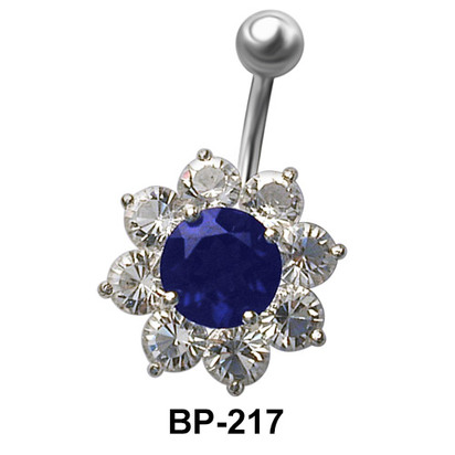Flower Shaped Belly Piercing BP-217