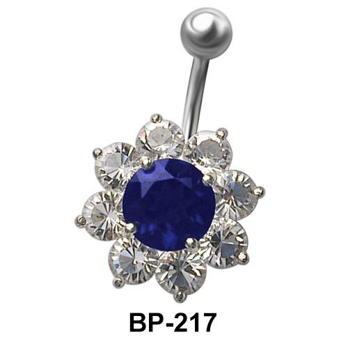 Flower Shaped Belly Piercing BP-217