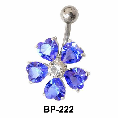 Stony Flower Belly Piercing BP-222