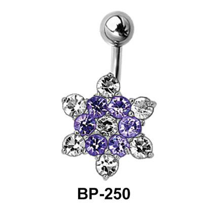 Flower Shaped Belly Piercing BP-250