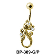 Dragon Shaped Belly Piercing BP-389