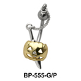 Sword in Halloween Mask belly Piercing BP-555