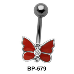 Butterfly Belly Piercing BP-579