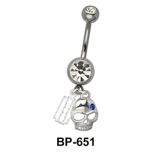 Blade Skull & Zombies BP-651