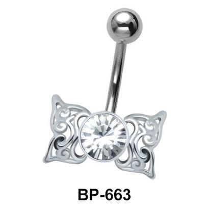 Butterfly Wings Belly Piercing BP-663
