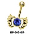 Wings Belly Piercing BP-665