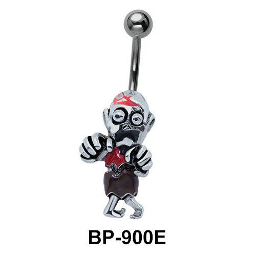 Aged Male Figure Belly Piercing BP-900E