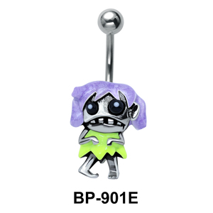 Funny Zombie Belly Piercing BP-901E