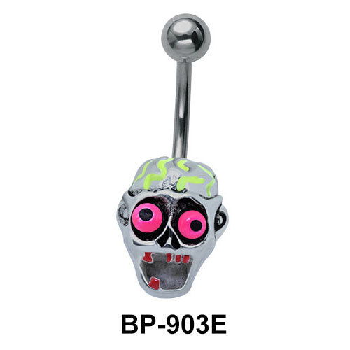 Funny Ghost Belly Piercing BP-903E
