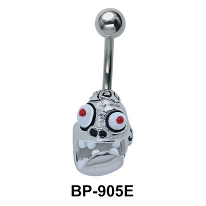 Devil Face Belly Piercing BP-905E