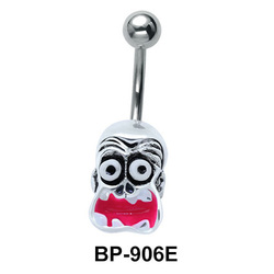 Weird Face Designed Belly Piercing BP-906E