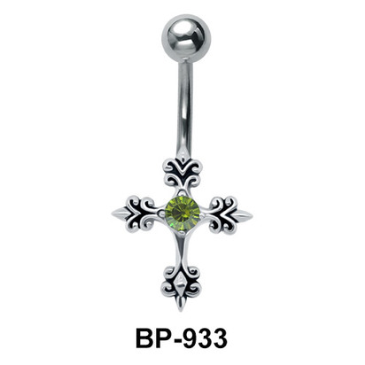 Cross Belly Piercing BP-933