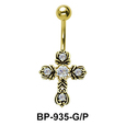 Cross Belly Piercing BP-935