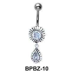 Blazing Stony Sun Belly Piercing BPBZ-10