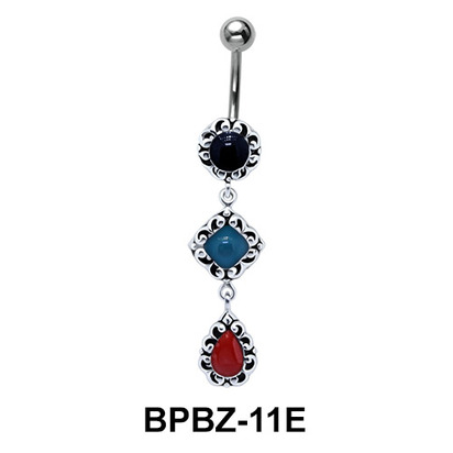 Byzantium Design Belly Piercing BPBZ-11E
