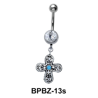 Byzantium Design Belly Piercing BPBZ-13s