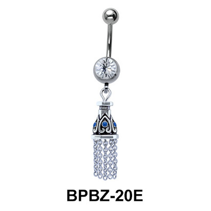 Dazzling Chandelier Belly Piercing BPBZ-20E