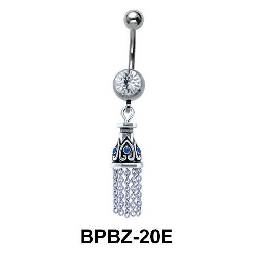 Dazzling Chandelier Belly Piercing BPBZ-20E