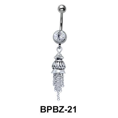 Ravishing Bell Shaped Belly Piercing BPBZ-21