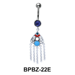 Colorful Dream Catcher Belly Button Ring BPBZ-22E