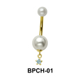 Belly Pearl with Star Attachment BPCH-01