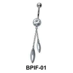 Belly Icicle Piercing BPIF-01