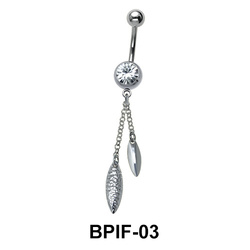 Belly Icicle Piercing BPIF-03