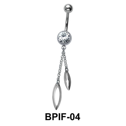 Belly Icicle Piercing BPIF-04