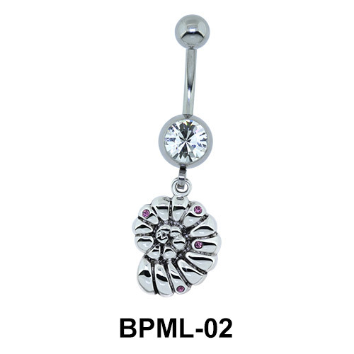 Funky Underwater Insect Shaped Belly Piercing BPML-02
