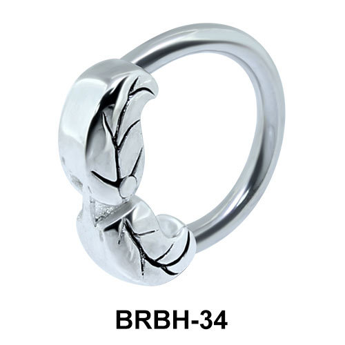 Leaves Belly Closure Rings BRBH-34