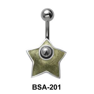 Star Belly Piercing Shields BSA-201