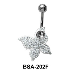 Butterfly Belly Rainbow Piercing BSA-202F