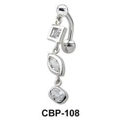 Multi Stone Belly Piercing CBP-108