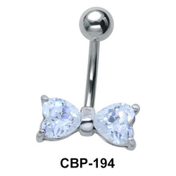 Bow Belly Piercing CBP-194