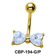 Bow Belly Piercing CBP-194