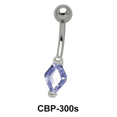 Diamond belly CZ Crystal CBP-300s