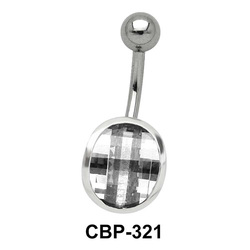 Illusion Design Belly CZ Crystal CBP-321