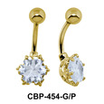 Flowery Stone Exclusive Belly Piercing CBP-454