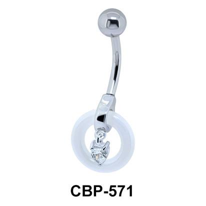 Ceramic Belly Piercing CBP-571