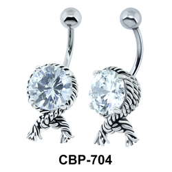Belly Piercing Trendy Line CBP-704