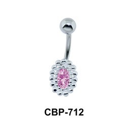 Oval Stone Assorted Belly Piercing CBP-712