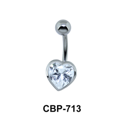 Heart Stone Assorted Belly Piercing CBP-713