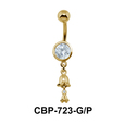 Flower Hanging Belly Piercing CBP-723