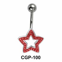 Stone Set Star Rainbow Line CGP-100
